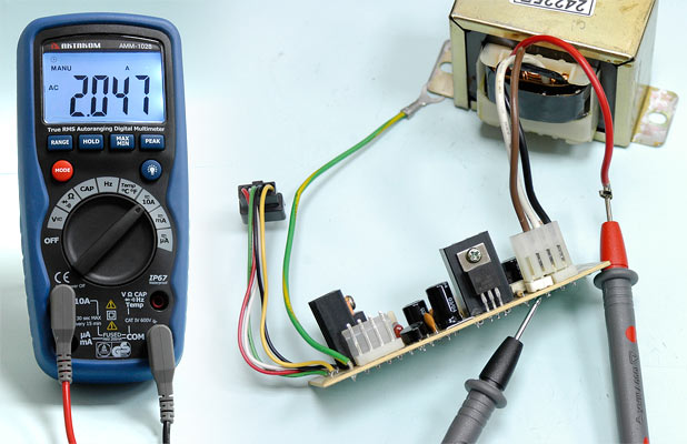 AC current measurement