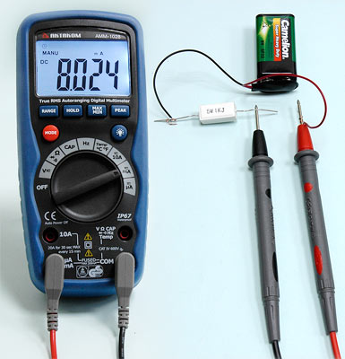 DC current measurement