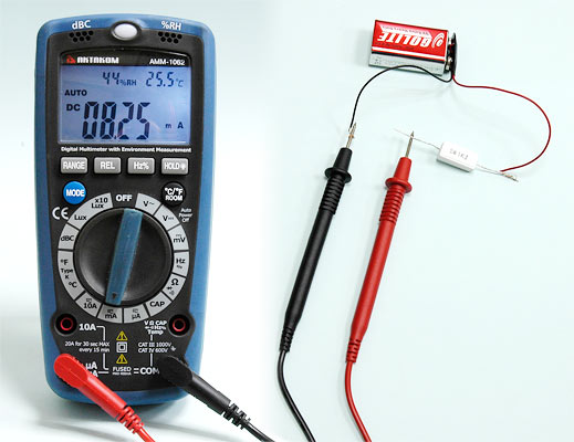 Measuring DC Current