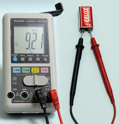 DC voltage measurement