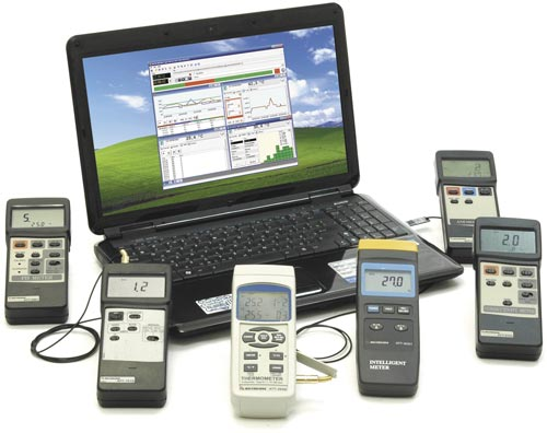 Aktakom Data Logger Monitor software for Windows