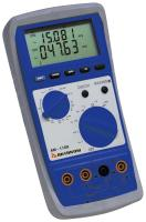 2 channel AKTAKOM AM-1109 multimeter to measure 2 values simultaneously