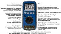 How to use AKTAKOM AMM-1130 multimeter?