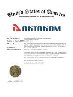 AKTAKOM is now a registered US trademark