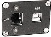 APS-7305L Programmable DC Power Supply - LAN and USB Device ports