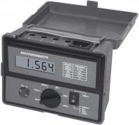 AKTAKOM AM-6000 digital milliohm meter and the measurement of low resistance