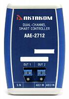 AAE-2712 Dual-Channel Smart Controller - front view
