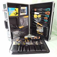 AHT-5066 76 PIECE Professional Electronic Technician's Tool Kit - full set