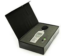 ATE-9015 Sound Level Meter - in the case