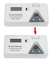 ASE-2003 Thermometer - thermal sensor connection