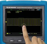 ADS-4122 Handheld Digital Oscilloscope - touch screen