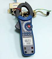 ACM-2353 Clamp Meter - AC Current (main display) + AC Voltage (secondary display) Measurement