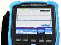 ADS-4062 Handheld Digital Oscilloscope - Oscilloscope display in Spanish
