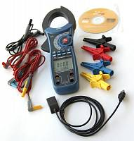 ACM-2353 Clamp Meter - with accessories