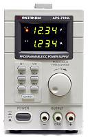 APS-7306L DC Programmable Power Supply - Front panel
