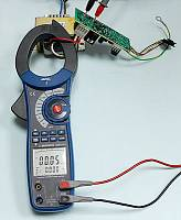 ACM-2353 Clamp Meter - Active Power (main display) + Phase Angle (secondary display) Measurement