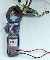 ACM-2353 Clamp Meter - Apparent Power (main display) + Reactive Power (secondary display) Measurement