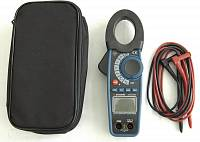 ACM-2348 Clamp Meter - with accessories