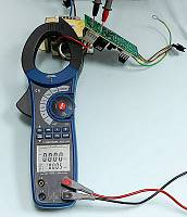 ACM-2353 Clamp Meter - Reactive Power (main display) + Apparent Power (secondary display) Measurement