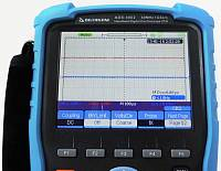 ADS-4062 Handheld Digital Oscilloscope - Oscilloscope display