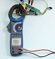 ACM-2353 Clamp Meter - Active Energy (main display) + Time (secondary display) Measurement