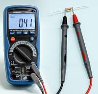 AMM-1028 Digital Multimeter - Resistance measurement