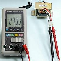 AM-1081 Hand Charger Digital Multimeter - AC Voltage measurement