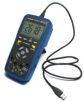 How to measure current, voltage and resistance with AKTAKOM AM-1171 digital multimeter