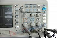ADS-2022 Digital Storage Oscilloscope - Control panel
