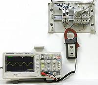 ATA-2502 Clamp Meter - AC measurement - analog output to oscilloscope