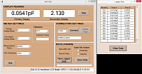 AM-312x-SW Software for LCR meters - logged data